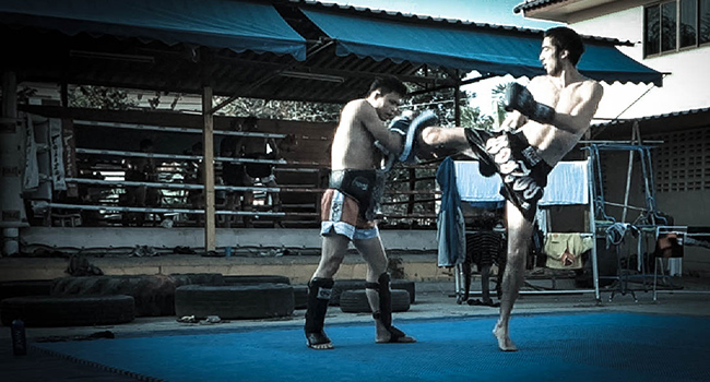 The zen of Muay Thai.