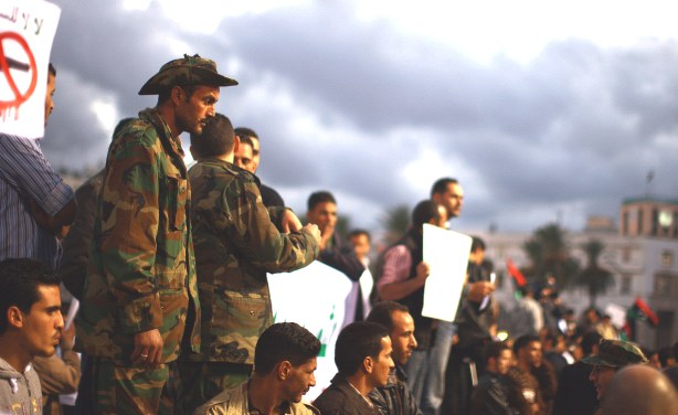 Residents go on strike after Libyan militiamen kill 43 protesters in Tripoli (Photo: UN Multimedia)